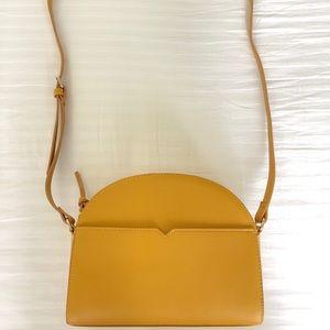 Brand New Mustard Crossbody Bag
